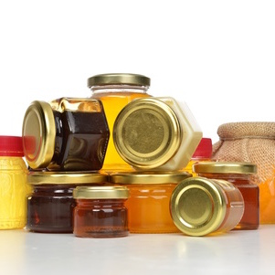 Miel et confitures